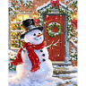 Christmas Gifts Wall Decor Full Drill 5D Diamond Painting Kits Snowman DIY Art