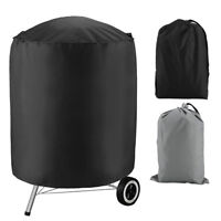 "BBQ Grill Cover For Weber Smokey Joe Silver Serving Indoor Outdoor Round 28""-36"""