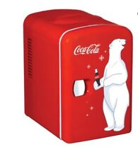 Mini Refrigerator Coca-Cola Koolatron Desktop Electric 6-Can Fridge Retro Cooler