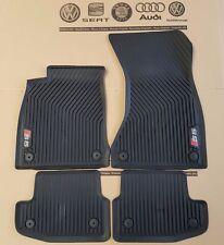 Audi A5 S5 Cabrio sportback original floor rubber mats front rear 4 piece set