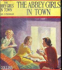 VINTAGE - ELSIE J. OXENHAM - THE ABBEY GIRLS IN TOWN (HCDJ; 1941)