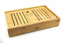 Graceful Bamboo Chinese Gongfu Tea Table Serving tray 35*22cm L04M