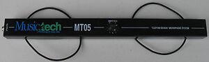 "MusicTech Italian Accordion Microphone MT-05EN External TRS 1/4"" Adjustable gain"