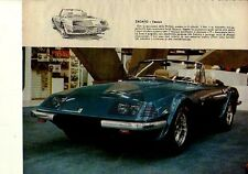 W26 Ritaglio Clipping 1971 Zagato Ferrari 3Z