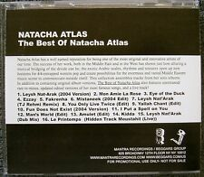 NATACHA ATLAS - The Best Of Natacha Atlas, 2005 Advance Release CD