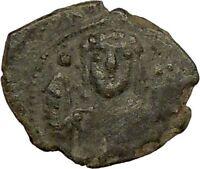Manuel I 1143AD Ancient Authentic BYZANTINE  Coin Monogram  i17764