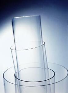 Acrylic Pipe OD90mm x 5mm x 1M Clear Tube Acrylic ExtrudedTube FREE POST