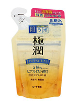 ROHTO Hadalabo Gokujyun premium hyaluronic acid lotion refill 170ml Japan NEW