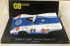 Slotcar Fly Porsche 917 Spyder Interserie Leo Kinnunen No Scaletrix Carrera