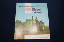 JOHN DEERE 435 DIESEL TRACTOR BROCHURE 2-53 DETROIT ENGINE