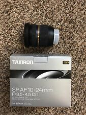 Tamron SP B001 10-24mm f/3.5-4.5 Di-II Aspherical AF IF Lens For Nikon