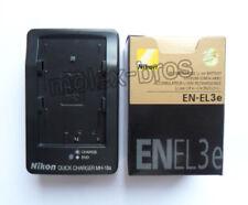 Battery EN-EL3e & Charger MH-18a For Nikon D90 D80 D700 D300 D300S D100SLR