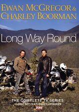 Long Way Round  (New 2 DVD Set 2016) Ewan McGregor Charley Boorman Road Trip