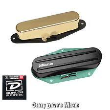 DiMarzio Chopper T & Twang King Neck Telecaster Pickup Set + Dunlop Med x2