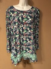 Umgee Ladies Beautiful Tunic Top Size Large
