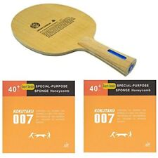 SANWEI HC-6s HINOKI HARD CARBON KOKUTAKU 007 40+ SPECIAL SPONGE TABLE TENNIS