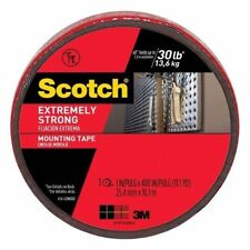 NEW 3M Scotch Extremely Strong Mounting Tape 1 in X 400 in 30lbs  414-LONGDC