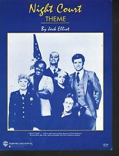 Night Court Television Theme 1984  Sheet Music
