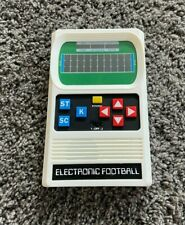 Mattel Electronic Football Handheld Game (Tested and Working)