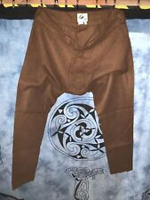 Viking Wool Trousers Pants Thorsberg Style Trousers Brown Heavyweight Excellent