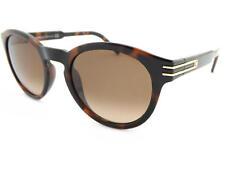 MONT BLANC occhiali da sole rotondi marrone tartaruga/marrone sfumato LENTI
