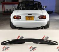 Mazda Mx5 mk2 NB body kit Spoiler Ducktail Rear Wing Trunk Lid Lip Splitter