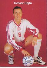 Tomasz Hajto  Polen  Fußball Autogrammkarte orig. signiert 396884