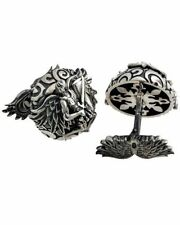 MONTEGRAPPA - Le Cufflinks Guardian Angel Cufflinks IDANCLSS Sterling Silver