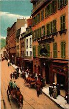 CPA Brest - Rue de Siam Hotel des Vez Ageurs (253005)