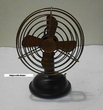 """Vintage Nautical Working Table Fan in Brass 6"""" Antique Fan."""