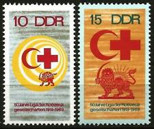 Germany (East) DDR GDR 1969 MNH - 50th Anniv League Red Cross Societies Symbols