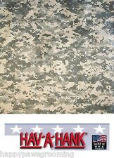*USA MADE DIGITAL ACU Desert CAMO CAMOUFLAGE BANDANNA BANDANA Head Scarf Hanky