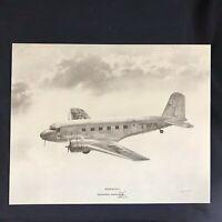Vintage DC-1 McDonnell Douglas Vendor Aircraft Print