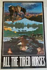 Vintage Poster 1970 Western All The Tired Horses Joe Mchugh East Totem American