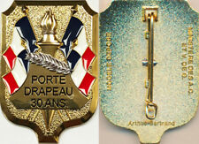 Insigne de PORTE DRAPEAU, 30 ans