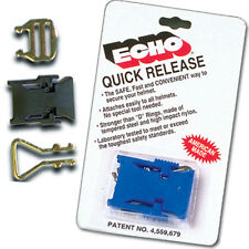 Echo Blue Motorcycle/Snowmobile Helmet Strap Quick Release Buckle DOT/Snell