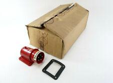 10 Stück CEEform Anbau Gerätestecker mit Phasenwender   16A-6h   380V~   5 polig