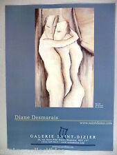 Diane Desmarais Art Gallery Exhibit PRINT AD - 2002