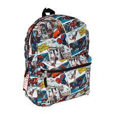 "Marvel Anime Spiderman All Over Print 16"" Backpack"