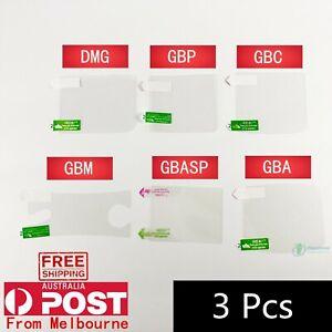 Screen Protection Film For Nintendo Gameboy & DMG & GBP & GBC & GBA & GBASP &GBM