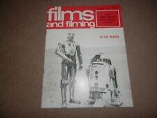 Films & Filming August 1977 Star Wars George Lucas James Dean Rebel Without