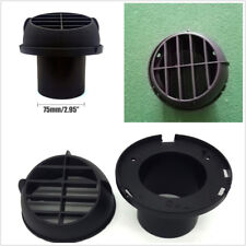1*Plastic 75mm Air Outlet Vent Net Cover For Exhaust Pipe Car Air Parking Heater