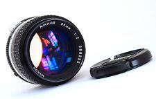 NIKON NIKKOR 85 mm f2 - 1995 AIS-Minty exemple!