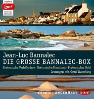 JEAN-LUC BANNALEC - DIE GROßE BANNALEC-BOX 3 MP3 CD NEW