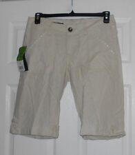 Rock 47 by Wrangler Item:WHH15CW ladies size 5/6 linen bermuda shorts NWT