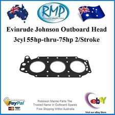 A New Head Gasket Suits Johnson Evinrude 55hp-thru-75hp 1968-1989 # R 313413