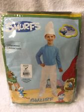 Brandnew Smurfs Movie Halloween Costume Medium Size 8 10 Jumpsuit Age 4 5 6 7