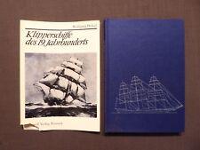 Hölzel, Klipperschiffe des 19.Jhd., Hinstorff Rostock EA 1976 DDR, mit Baupläne