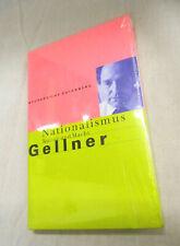 Ernest Gellner, Nationalismus Kultur und Macht  Büchergilde Gutenberg Neu OVP