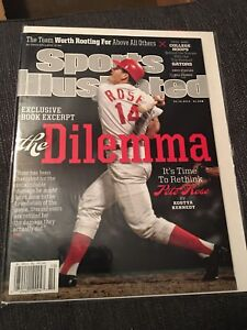 Pete Rose Newsstand Sports Illustrated Mint